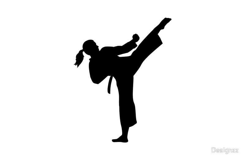 taekwondo girl silhouette at getdrawings com free for map legend clipart free urban legend clipart