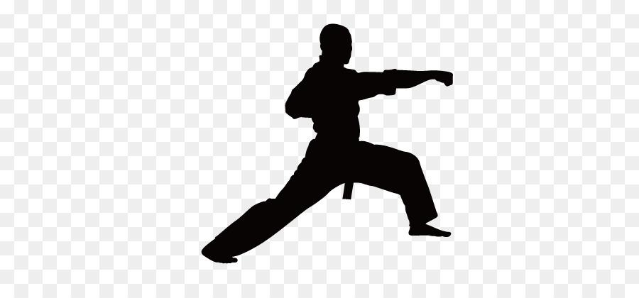 900x420 Martial Arts Karate Silhouette Clip Art
