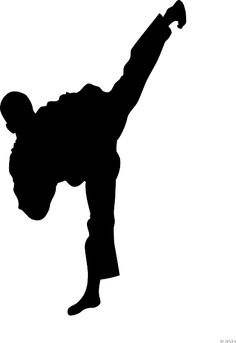 taekwondo silhouette clip art at getdrawings com free for personal rh getdrawings com martial arts clipart this computer martial arts clip art free download