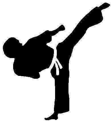 taekwondo silhouette clip art at getdrawings com free for personal rh getdrawings com taekwondo kicks clipart taekwondo clipart black and white