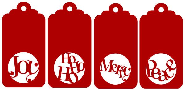 600x294 Silhouette Tags For Christmas Fun For Christmas