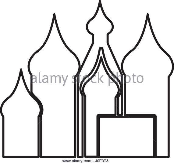 571x540 India Historical Palace Stock Vector Images
