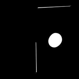 Tambourine Silhouette