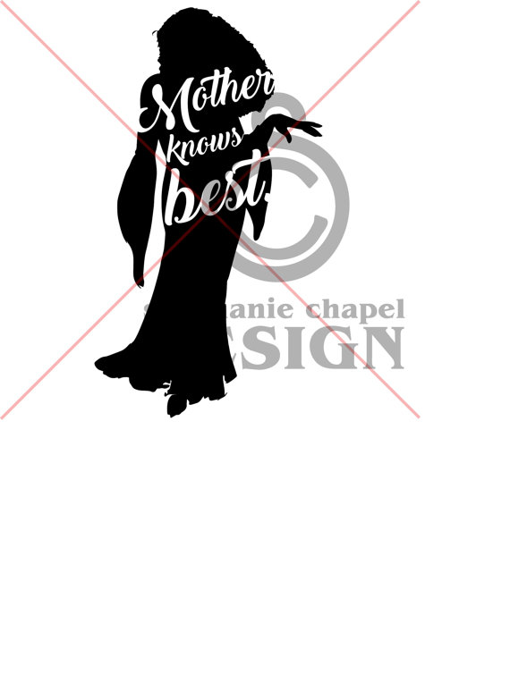 570x754 Tangled Mother Knows Best Svg, Tangled Mother Knows Best Clipart