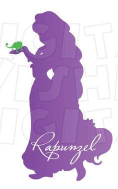 236x378 Tangled Silhouette