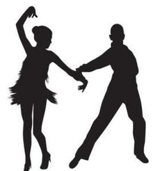 236x246 Swing Couple Black Vector Silhouette Of A Couple Dancing Swing