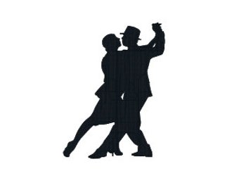 340x270 Tango Silhouette Etsy