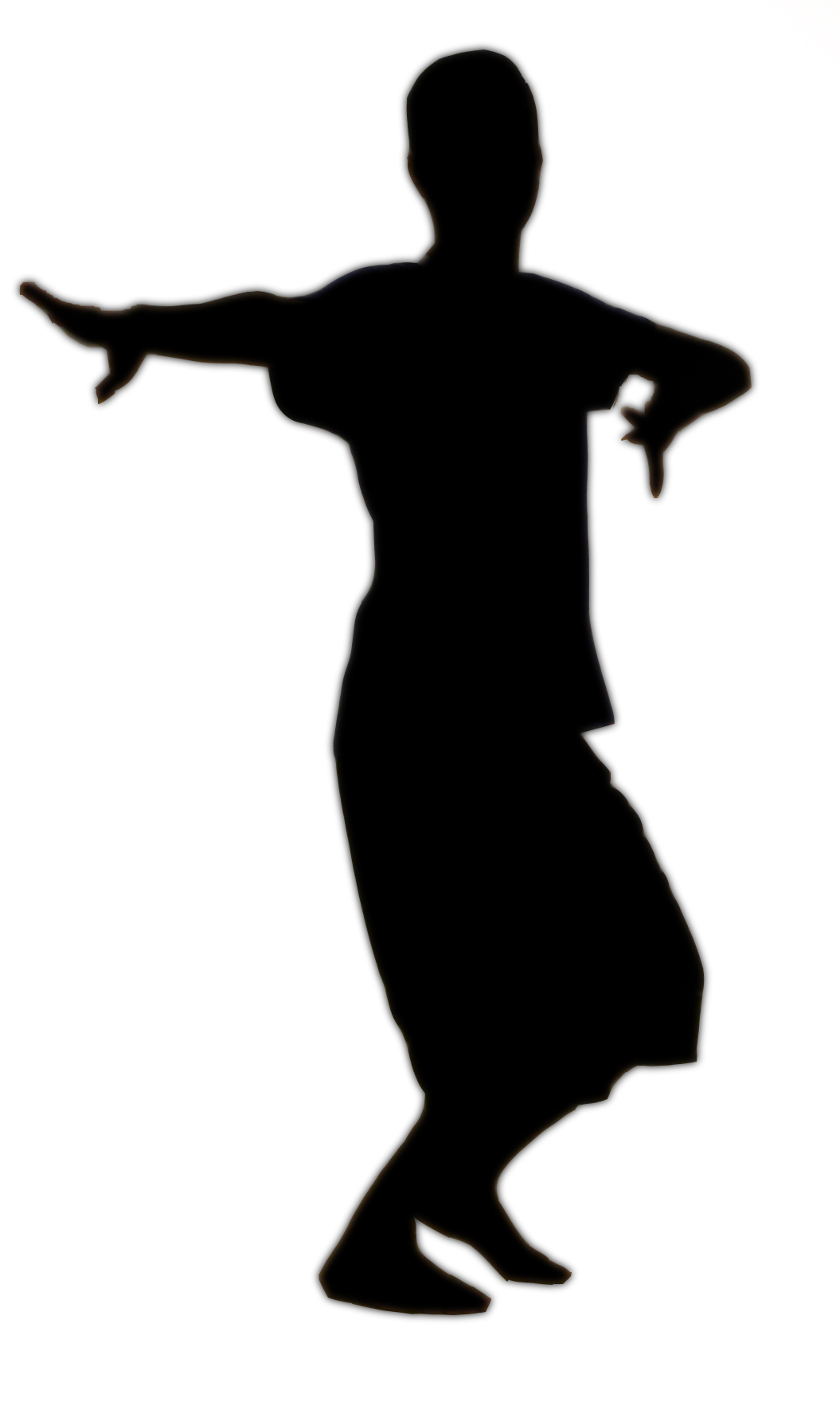 1055x1779 Tap Dance Silhouettes Clipart