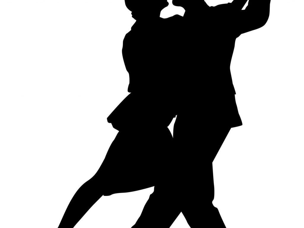 1024x768 Vibrant Clipart Dancers Silhouette Tap Dancer Panda Free Images