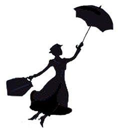 236x274 Disney Mary Poppins Silhouette Printables Mary