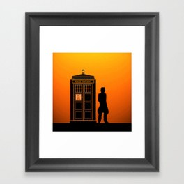 264x264 8th Doctor Framed Art Prints Society6