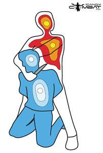 203x300 Targets Hostage Silhouette Target Paper Shooting Practice Range