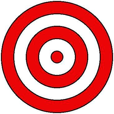 367x367 Printable Shooting Targets Bullseye Template Printable Target