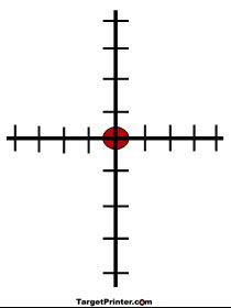 210x280 Printable Target Scope Installation Guide Guns