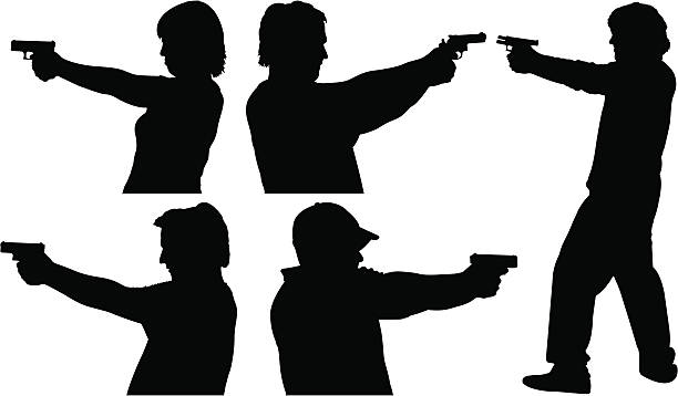 612x358 People Guns Clipart Collection