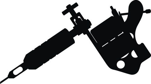 tattoo machine silhouette at getdrawings com free for personal use rh getdrawings com