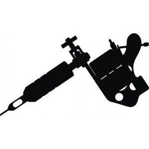 300x300 Tattoo Gun Silhouette