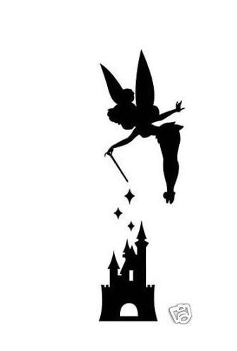 336x498 Tinkerbell Silhouette Tinkerbell Love The Silhouette Tattoos
