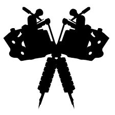225x225 Gallery For Gt Tattoo Machine Drawing Vector Logo