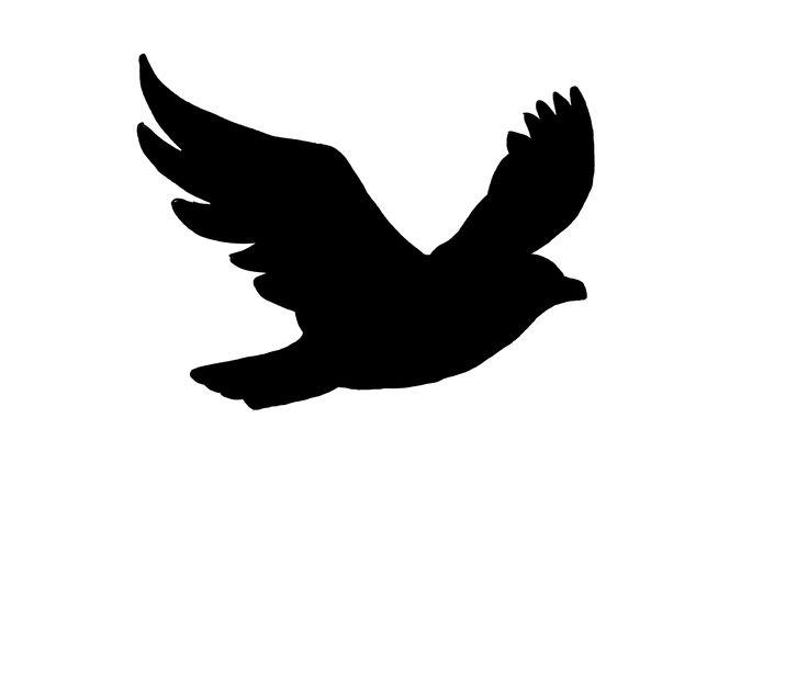 736x638 Drawn Bird Flight Silhouette Clip Art