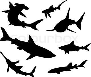 320x271 Shark Silhouette Tattoo The Shark Tattoo A Symbol Of Power