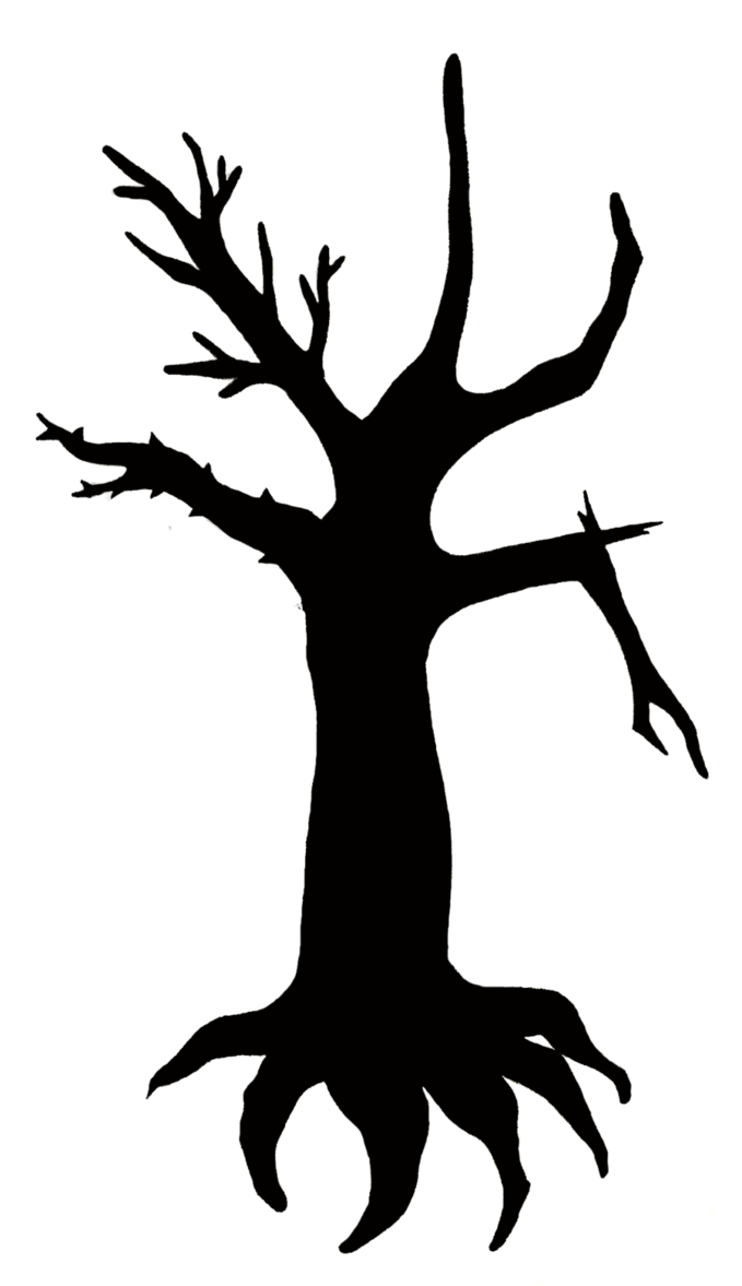 679x1177 Tattoo Design Outline Two Tree Silhouette By Princesssnuzzlenut