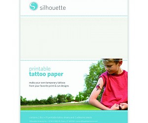 300x250 Silhouette Temporary Tattoo Paper