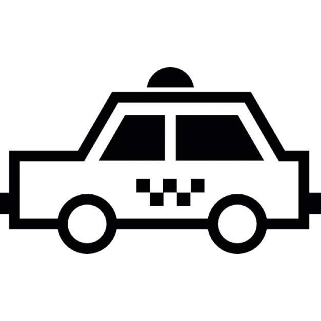 626x626 Taxi Side View Icons Free Download