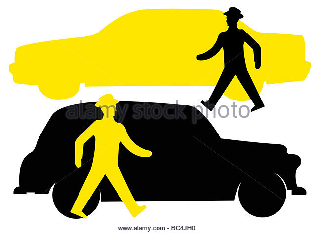 640x473 Black Cab London Silhouette Cut Out Stock Images Amp Pictures