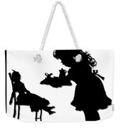 170x180 Tea Party Dolly Silhouette Digital Art By Rose Santuci Sofranko