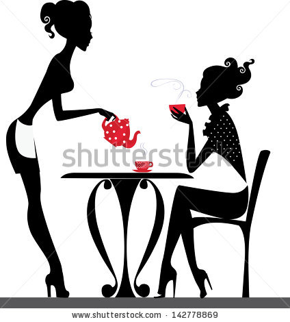 424x470 Wine Clipart Black And White Girl Collection