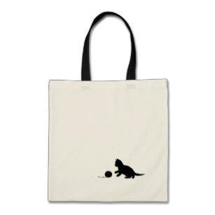 307x307 Cat Tote Bags, Cat Tote Bag Designs