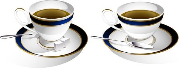 589x226 Tea Cup Clip Art Free Vector Download (215,225 Free Vector)