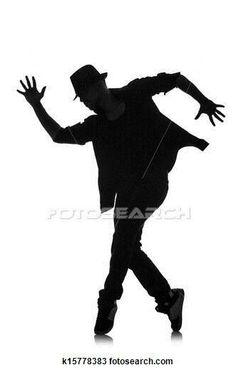 236x370 Opulent Design Tap Dance Silhouette