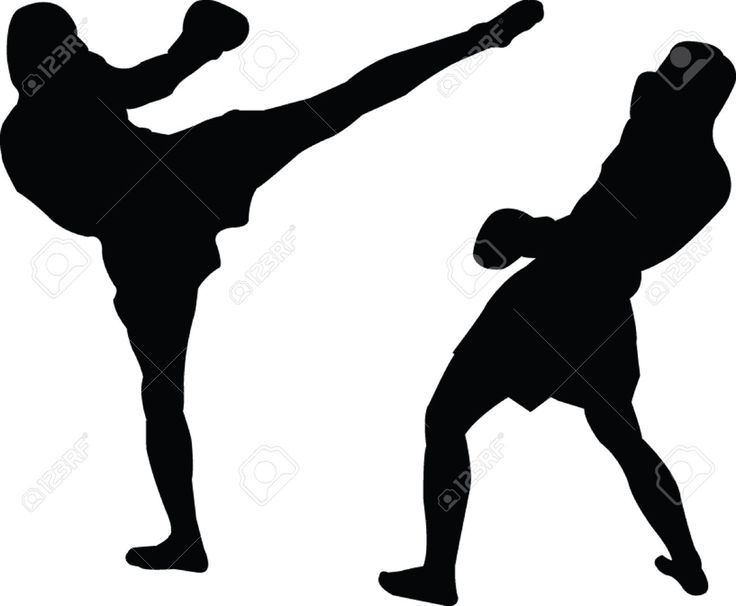 736x606 School Teacher Kickboxing Clipart