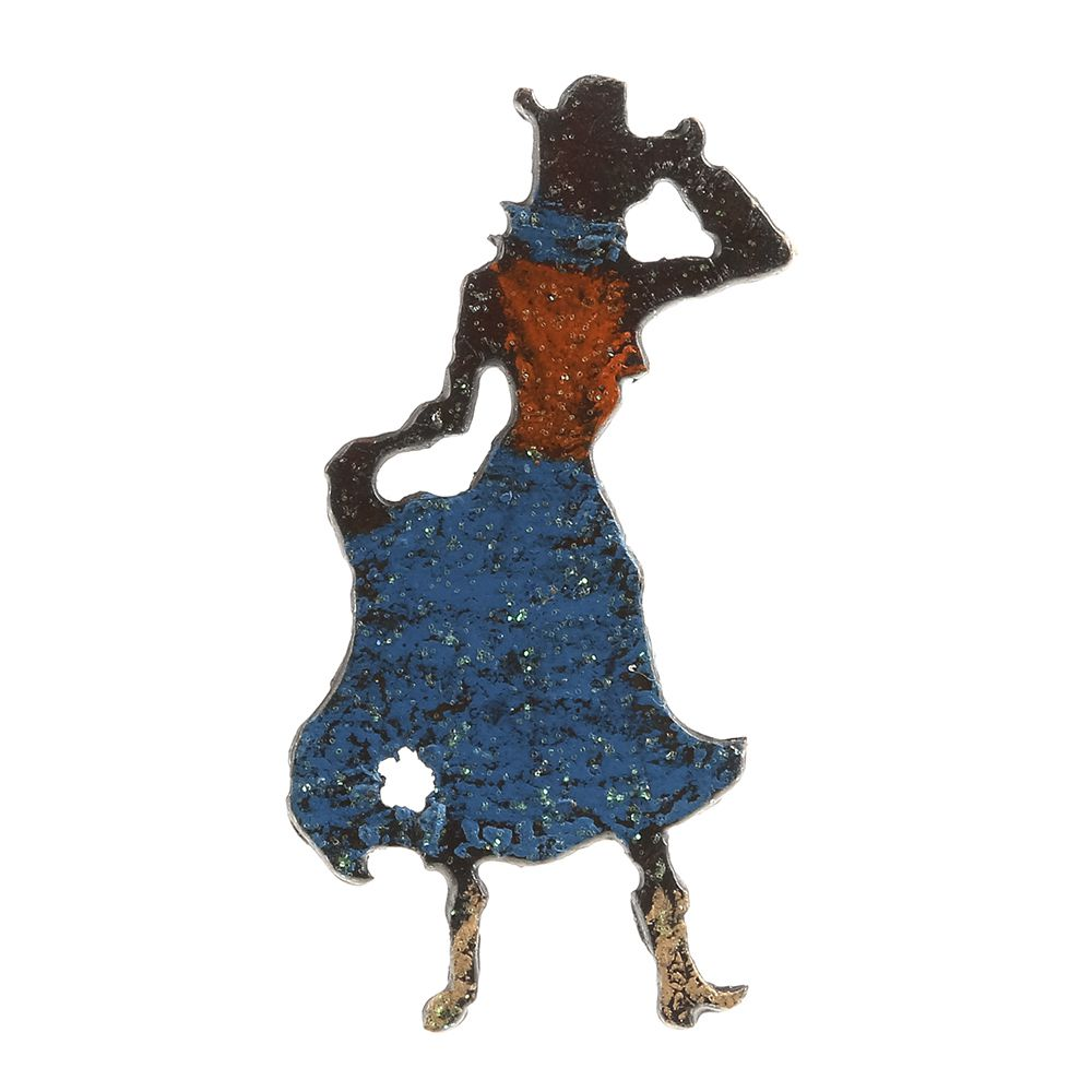 1000x1000 Shop Whimsies Mini Cowgirl Silhouette Magnet