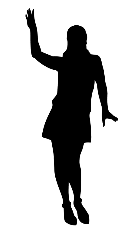 453x792 Silhouettes Clipart