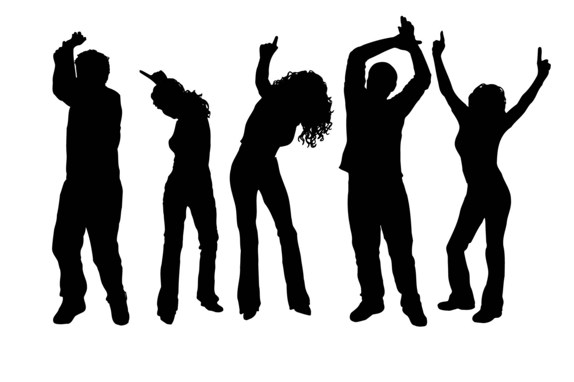 2000x1333 Dance Team Clipart