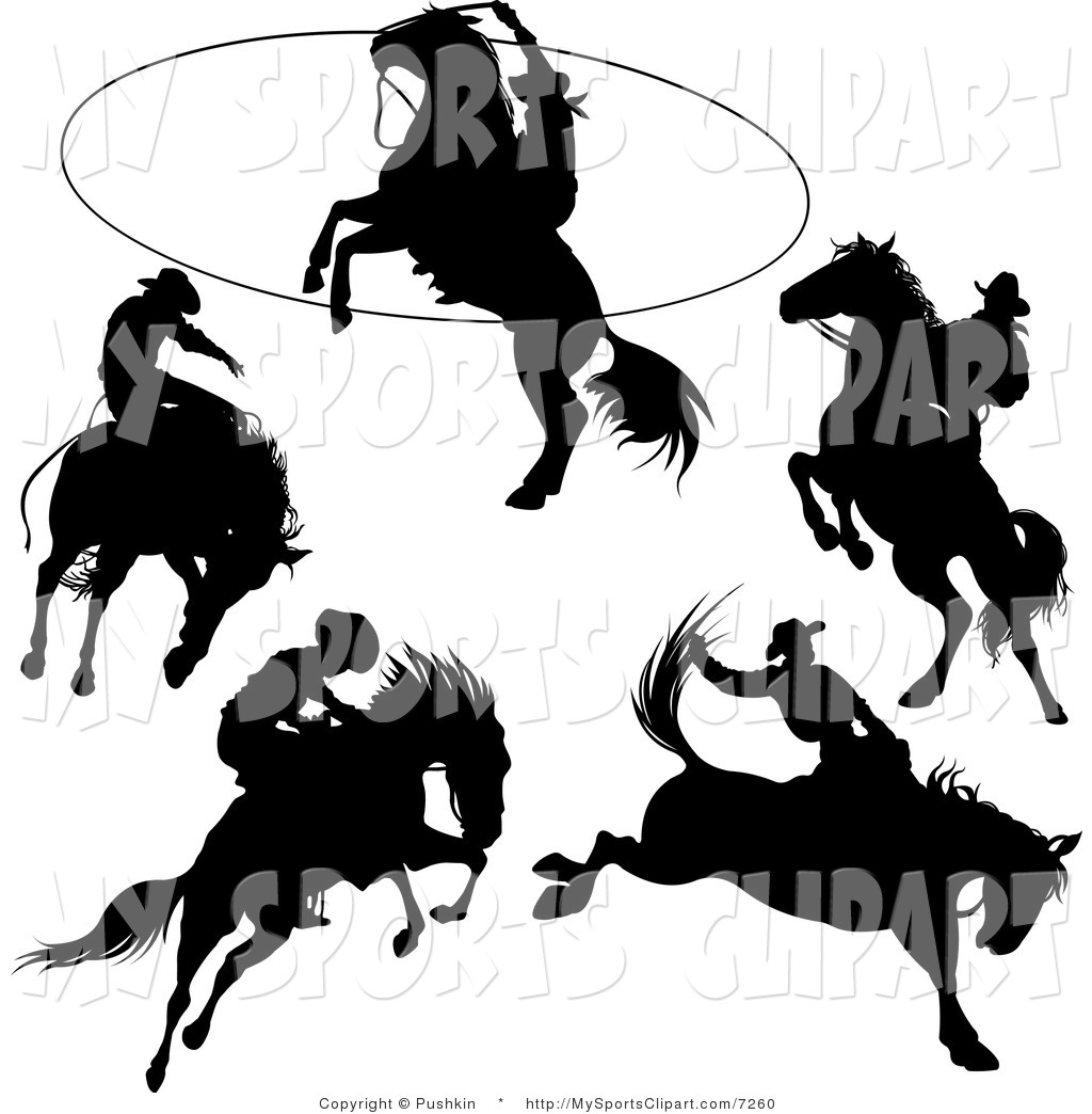 1024x1044 Rodeo Roping Clipart
