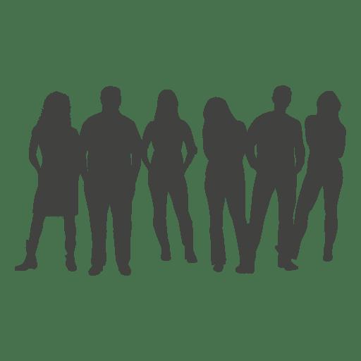 512x512 Professional Team Silhouette