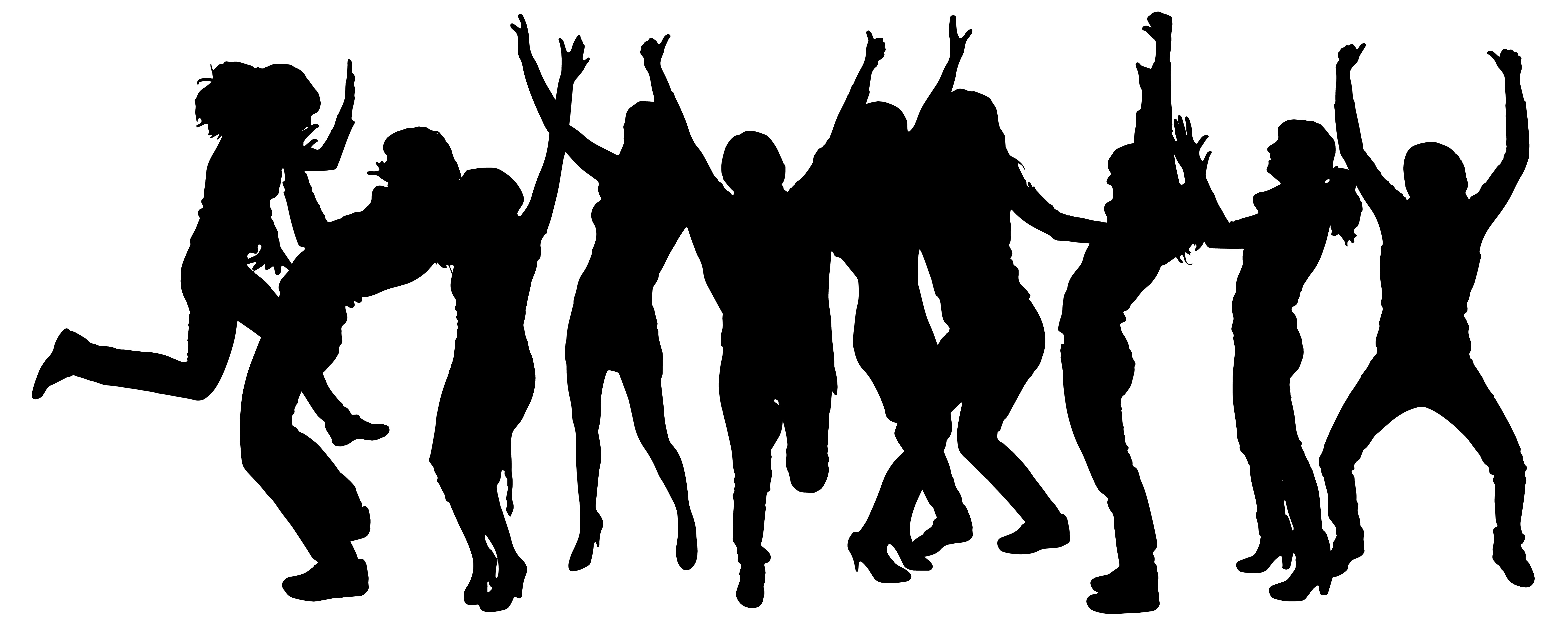 team silhouette at getdrawings com free for personal use Dance Clip Art Dance Team Logos
