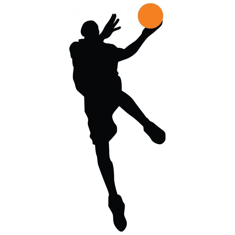 1000x1000 Basketball Silhouette Vector Collection Clipart