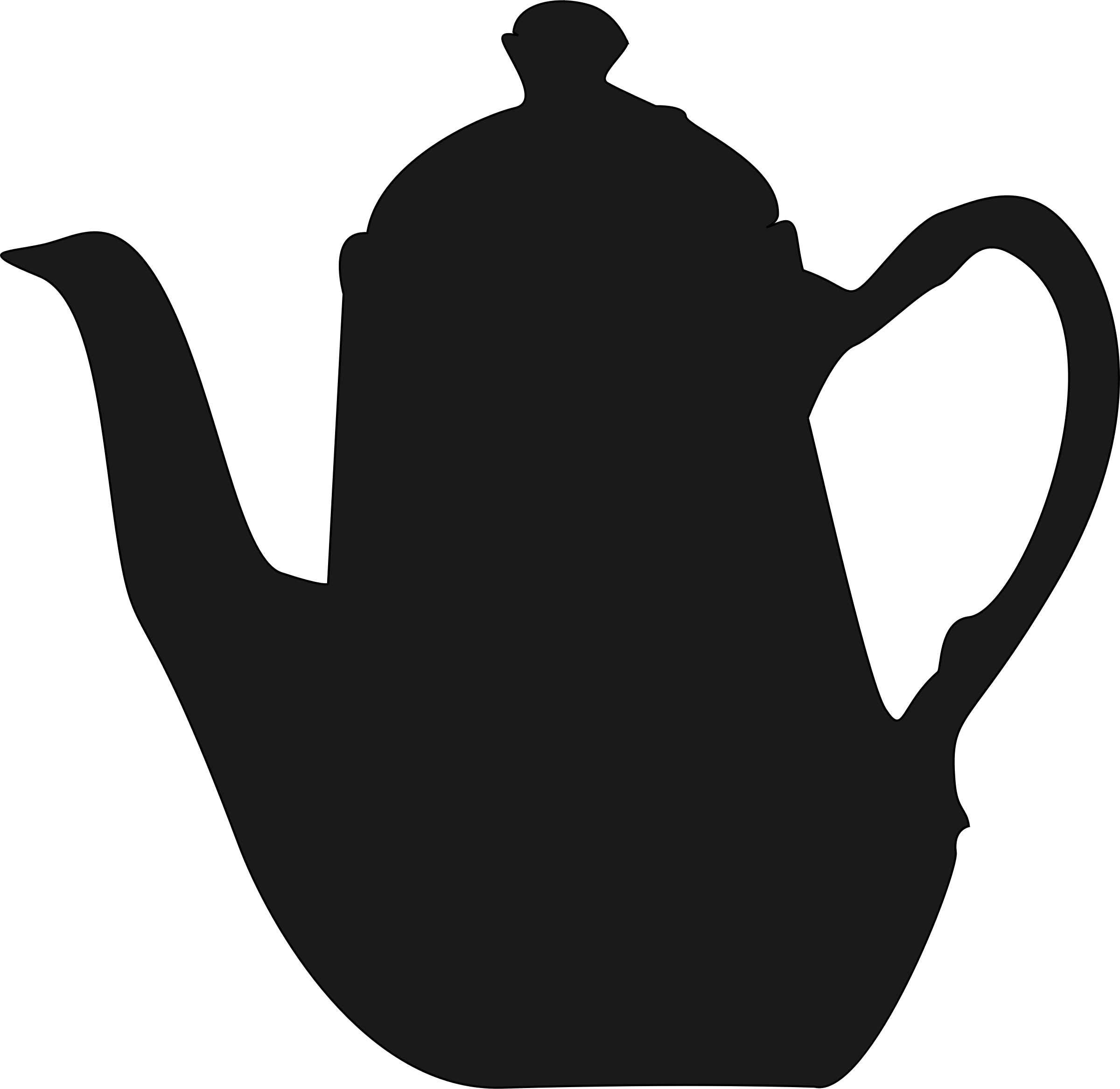 teapot silhouette at getdrawings com free for personal use teapot rh getdrawings com