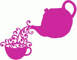 Teapot Silhouette Clip Art