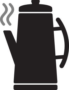 222x288 Free Kitchen Silhouette Clipart, 1 Page Of Public Domain Clip Art