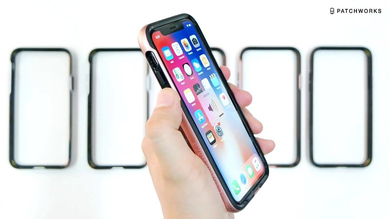 1280x720 Patchworks Level Silhouette Case For Iphone X