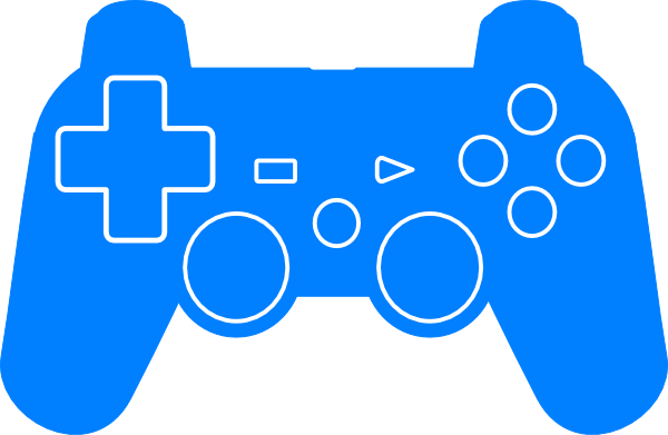 600x391 Play Station Controller Silhouette Svg Clip Arts Download