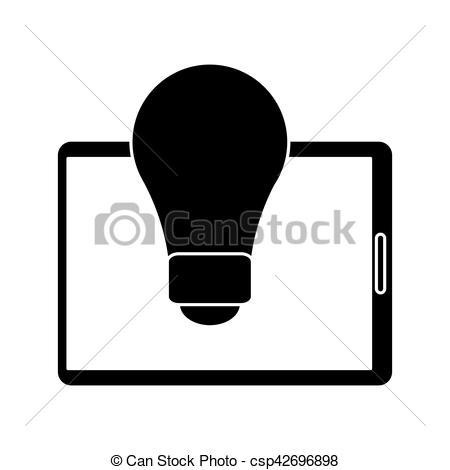450x470 Silhouette Technology Device Idea Creative Vector Eps Vectors