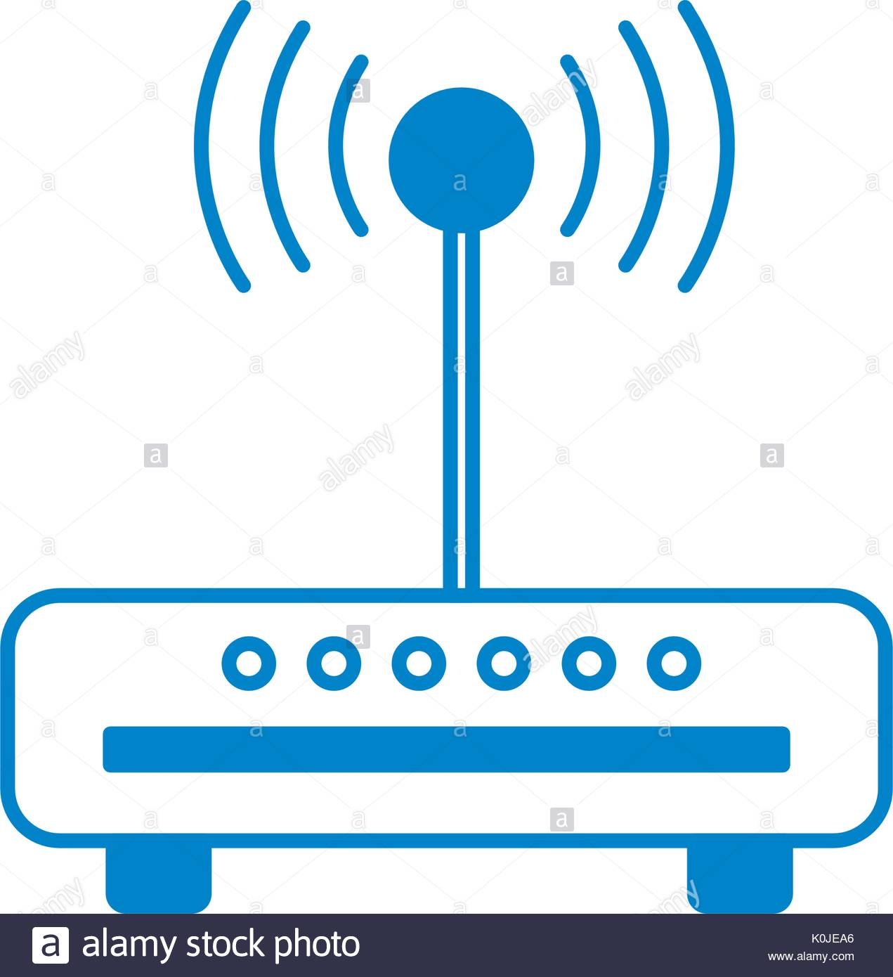 1271x1390 Silhouette Router Wifi Connection Network Technology Stock Vector