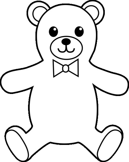 teddy bear silhouette clip art at getdrawings com free for rh getdrawings com images of teddy bear clipart black and white